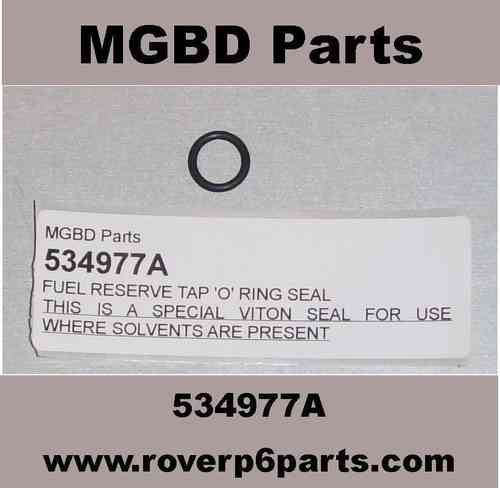 FUEL RESERVE TAP \'O\' RING SEAL (MODERN FUEL SAFE) - Rover P6 Parts ...
