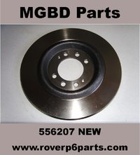 REAR BRAKE DISC ROTOR, GIRLING, (1966-1977) [NEW]