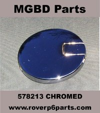 CHROMED PETROL FILLER CAP RE-CHROMING SERVICE