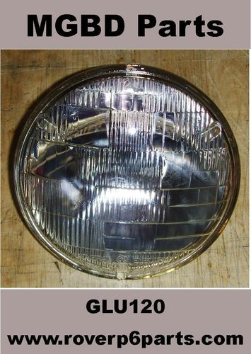 OUTER HEADLAMP SEALED BEAM UNIT 60/37.5-WATTS [NEW]